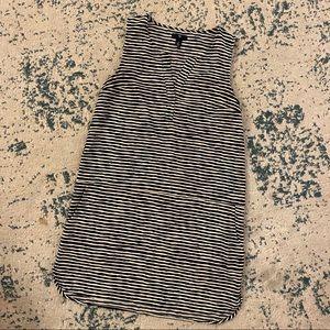 J Crew silky dress with pockets!